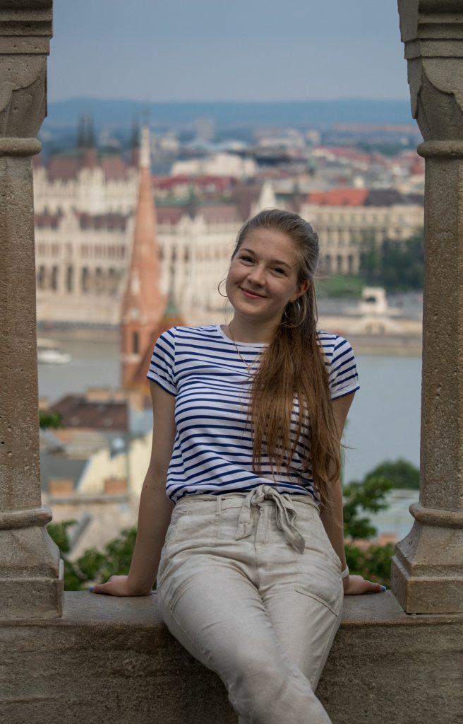 Panágl Zsófia Gabriella a MIÖ 2021-es díjazottja